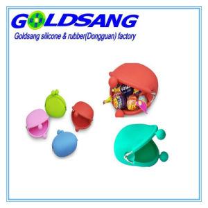 Colourful Candy Color Portable Silicone Coin Purse pictures & photos