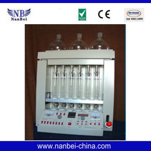Acid and Alkali Washing Method Crude Fiber Analyzer pictures & photos