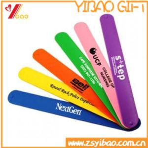 Manufacture Sport PVC Reflective Slap Wristband (YB-SW-07) pictures & photos
