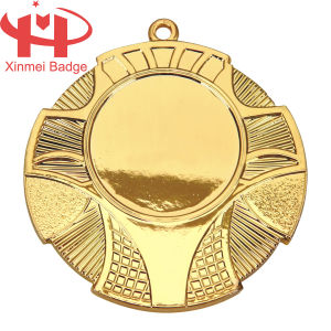 Gold Plating Blank Promotion Medal