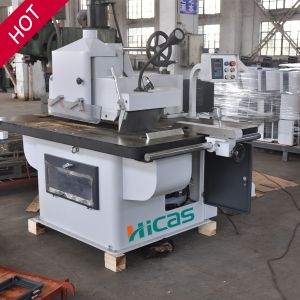 Hcj153 Woodworking Machine Automatic Feeding Single Blade Rip Saw pictures & photos