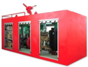 Self-Contained Fire Fighting Skid