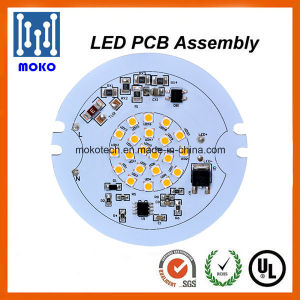 One Step Service LED PCB Assembly Factory, SMD5050 Round LED PCB