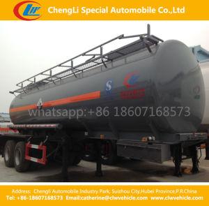 Double Tri-Axles Sulfuric Acid Diesel Gasoline Petroleum Oil Tanker Tank Semi Trailer pictures & photos