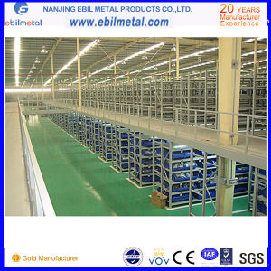 Steel Warehouse Floor Mezzanine Racking (EBIL-GLHJ) pictures & photos