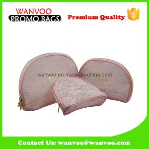 Pink Dumpling Nylon Mesh Zipper Cosmetic Bag pictures & photos