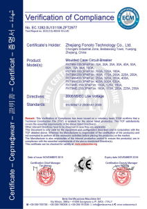 2p2d 100A Tmd MCCB (Fnt9m-100h, EZC100H, EZD100H) pictures & photos