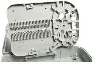 IP-65 Protection Level 16 Cores Fiber Optical Termination Box, Fiber Optic Distribution Box