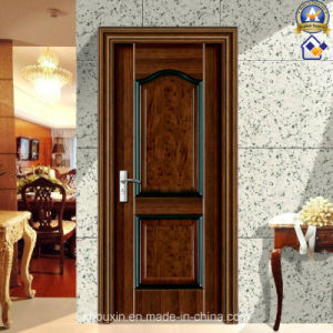 Factory Wholesale The Honorable Steel Wooden Door (sx-8-2019A) pictures & photos