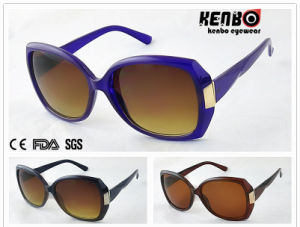 New Coming Fashion Sunglasses with Metal Hand of Temples for Lady UV400 Kp50338 pictures & photos