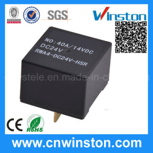 Miniature Plastic Shell Headlight Control Electromagnetic Relay with CE pictures & photos