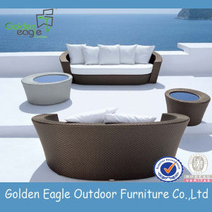 Outdoor Garden Three Seat Sofa Set Furniture
