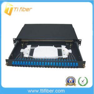 12/ 24 Port LC Duplex Fiber Optic Terminal Box pictures & photos