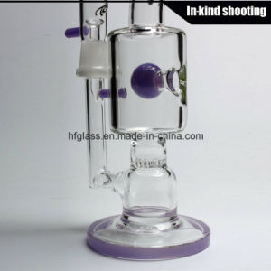 Toro Glass Stemless Jet Smoking Purple Glass Pipe Purple Glass Bubbler Water Pipes Oil Rig DAB Rigs Water Pipes Honeycomb pictures & photos