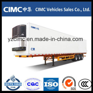 Cimc 2 or 3 Axles Refrigerated Trailer for Sale pictures & photos