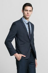 Calssical Style Nevy Blue Business Men Suit pictures & photos