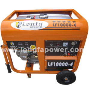 7.5/ 8.2kVA 220V South Africa Lonfa Portable Home Petrol Generator pictures & photos
