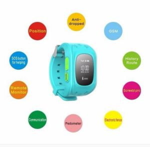 China Kids GPS Tracking Anti-Lost Smart Watch Sos Watch GPS Tracker Device