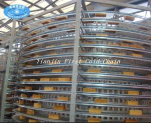 Bakey Stainless Steel Bread Spiral Cooling Tower pictures & photos