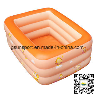 PVC Inflatable Swimming Pool Inflatable Kid Summer Bathing Pool Outdoor pictures & photos