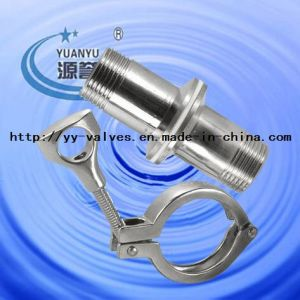 Sanitary Clamp Union Set (Clamp+Male Ferrule+Gasket) pictures & photos