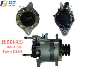 Alternator for Toyota 27030-54263, 100210-3821 12V65A pictures & photos
