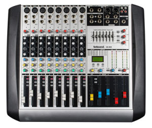 8 Channels Input Professional Audio Mixing Console Hx 8 pictures & photos