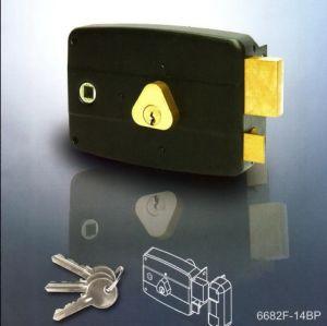 Garage Door Lock Rim Lock pictures & photos