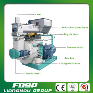 Ring Die Wheat Rice Paddy Straw Biomass Pellet Mill pictures & photos