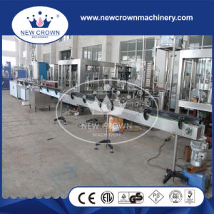CE Semi-Auto Linear Tea Drink Filling Machine for Tin Can pictures & photos