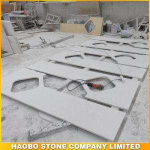 White Quartz Stone Countertop for Kitchen or Bathroom pictures & photos