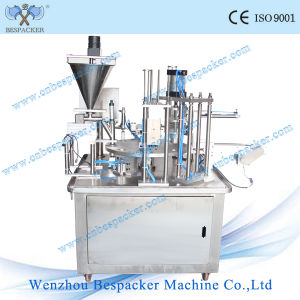 Coffee with Milk Plastic Cup Filling and Sealing Machine pictures & photos