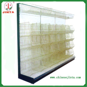 Retail Wall Shelving with Hooks (JT-A35) pictures & photos