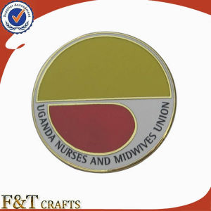Round Shape Custom Printed Hard Enamel Advertising Badge (FTBG1356A) pictures & photos