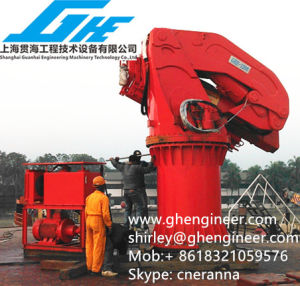 3.5t Hydraulic Knuckle Boom Marine Crane (GHE-KBMC-4100) pictures & photos