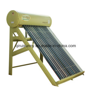 Solar Vacuum Tube Water Heater with CE Approval pictures & photos