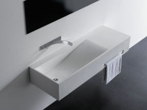 Acrylic Solid Surface Bathroom Basin Bowl pictures & photos