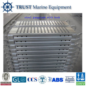 High Quality Marine Accommodation Ladder / Gangway Ladder with Hooks pictures & photos