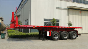 3 Axles 9m Self-Dumping Flatbed Semi-Trailer