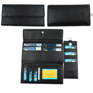 Fashion Men′s Cow Leather Wallet with High Quality pictures & photos