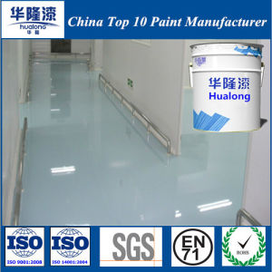Hualong Water Based Environmental Epoxy Floor Paint pictures & photos