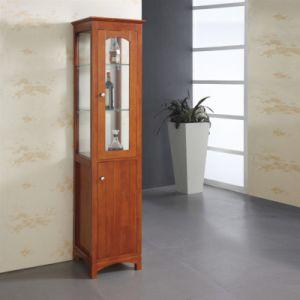 Floor Standing Towel Shelf Bathroom Corner Cabinet pictures & photos