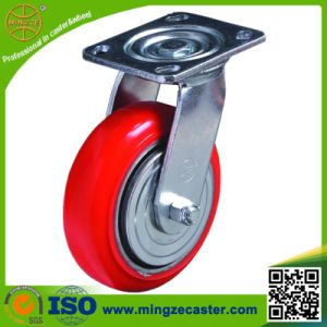 Korea Type Inustrial PU Wheels Heavy Duty Swivel Caster pictures & photos