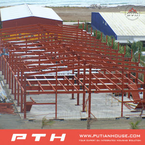 EPS Sandwich Wall Panel Steel Structure Building Project pictures & photos