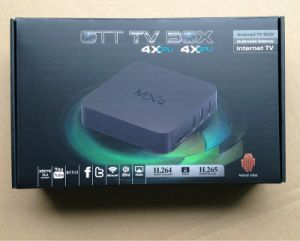 Quad Core 2.0GHz 1GB 8GB Smart TV Box pictures & photos