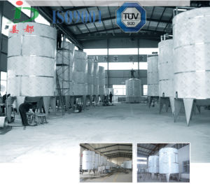 Stainless Steel Holding Tank/Milk Juice Storage Tank