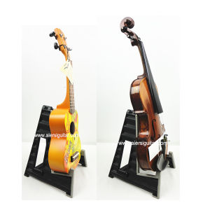 China Aiersi Hot Sale Quality Foldable Plastic Ukulele Stand pictures & photos