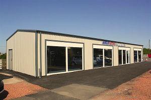 Cheap Light Steel Structure Car Garage
