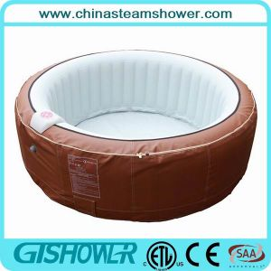 Inflatable Large Round 3 Person Hot Tub (pH050010) pictures & photos