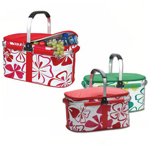 Folding Shopping Basket with Cooler Bag (SP-315C) pictures & photos